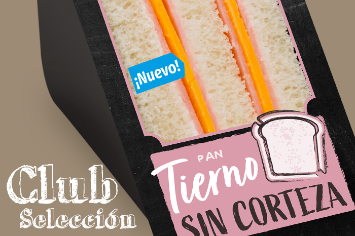 Sandwiches Club Selección ñaming